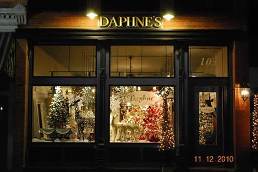 Daphne's gifts and framing