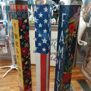 New 40 inch art poles